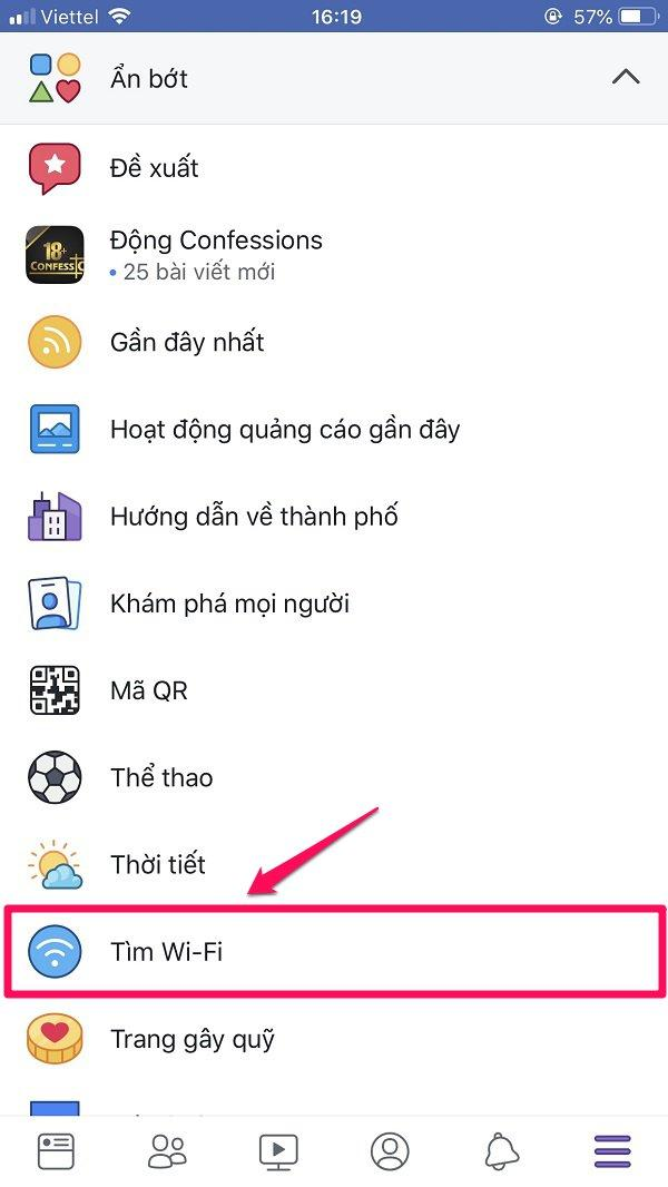 Cách lấy mật khẩu WiFi ở bất cứ đâu bằng Tìm wifi Facebook