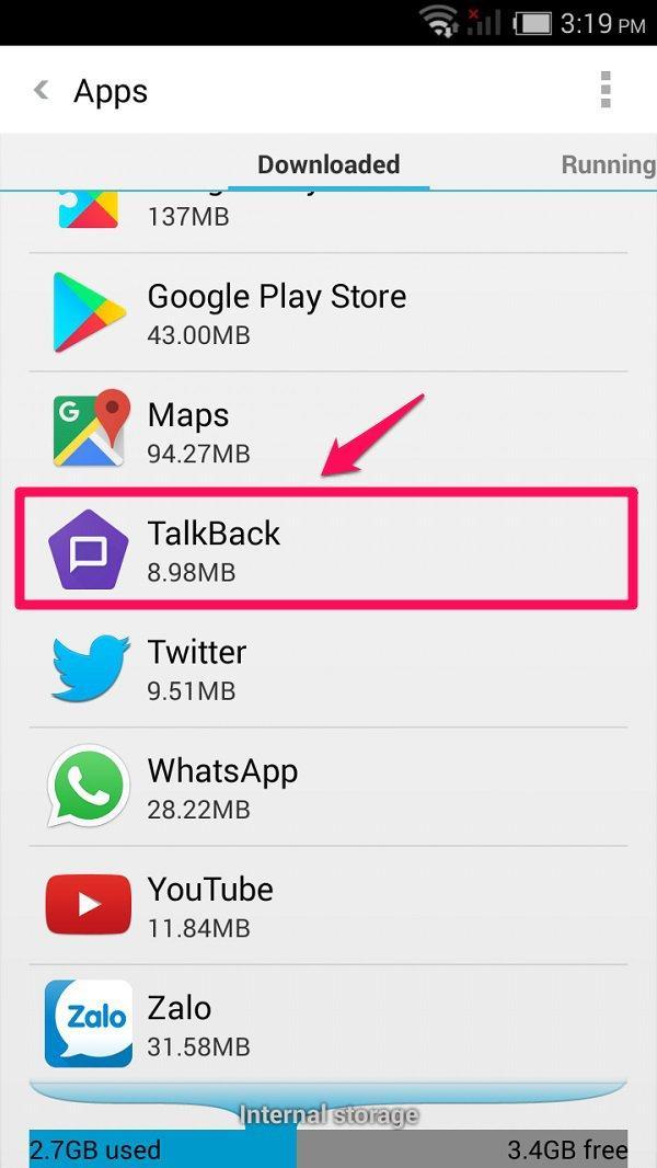 Cách xóa ứng dụng mặc định trên Android bằng cách vô hiệu hóa (Disable)
