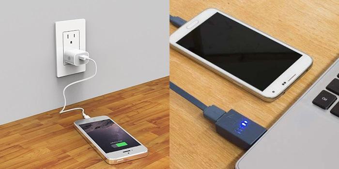 Hướng dẫn chữa điện thoại sạc không vào pin - Thử dùng các nguồn điện khác nhau