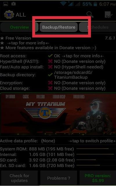 Cách xóa ứng dụng mặc định trên Android bằng Titanium Backup