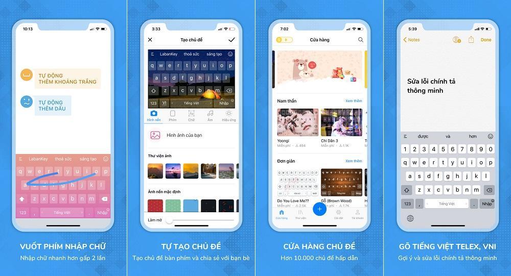 Ứng dụng bàn phím cho iPhone Laban Key