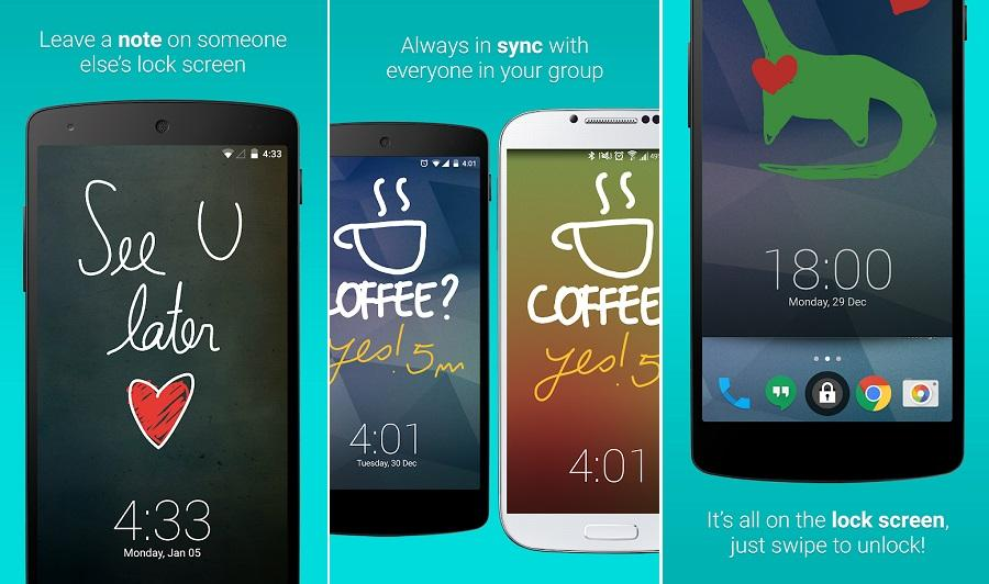 Ứng dụng khóa màn hình cho Android LokLok