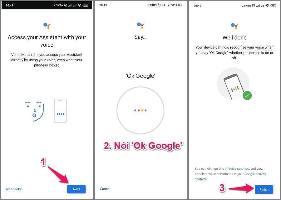 Hướng dẫn cách bật Ok Google trên Android