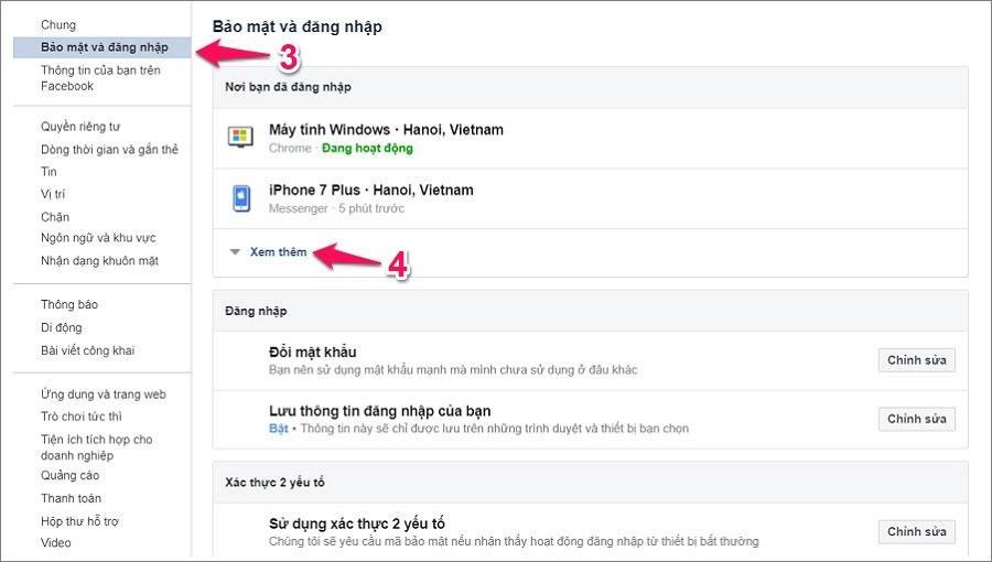 Hướng dẫn cách đăng xuất và thoát Messenger trên iPhone bằng trình duyệt Facebook