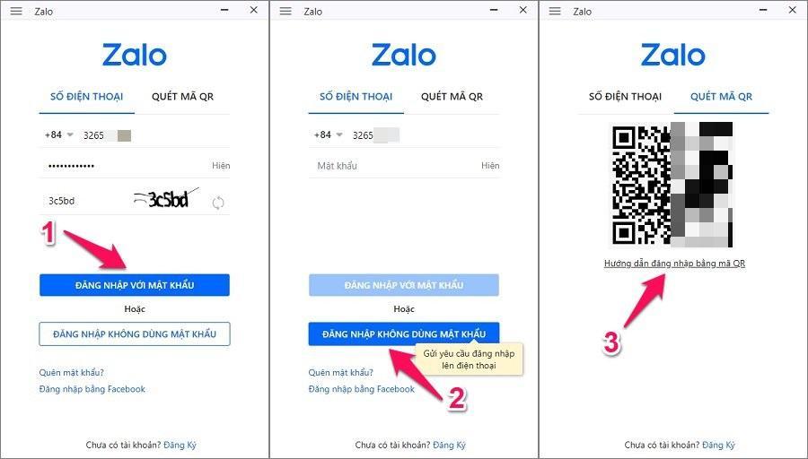 3 cách đăng nhập tài khoản Zalo PC