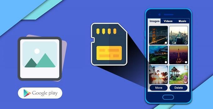 Cách lưu hình ảnh từ điện thoại vào thẻ nhớ