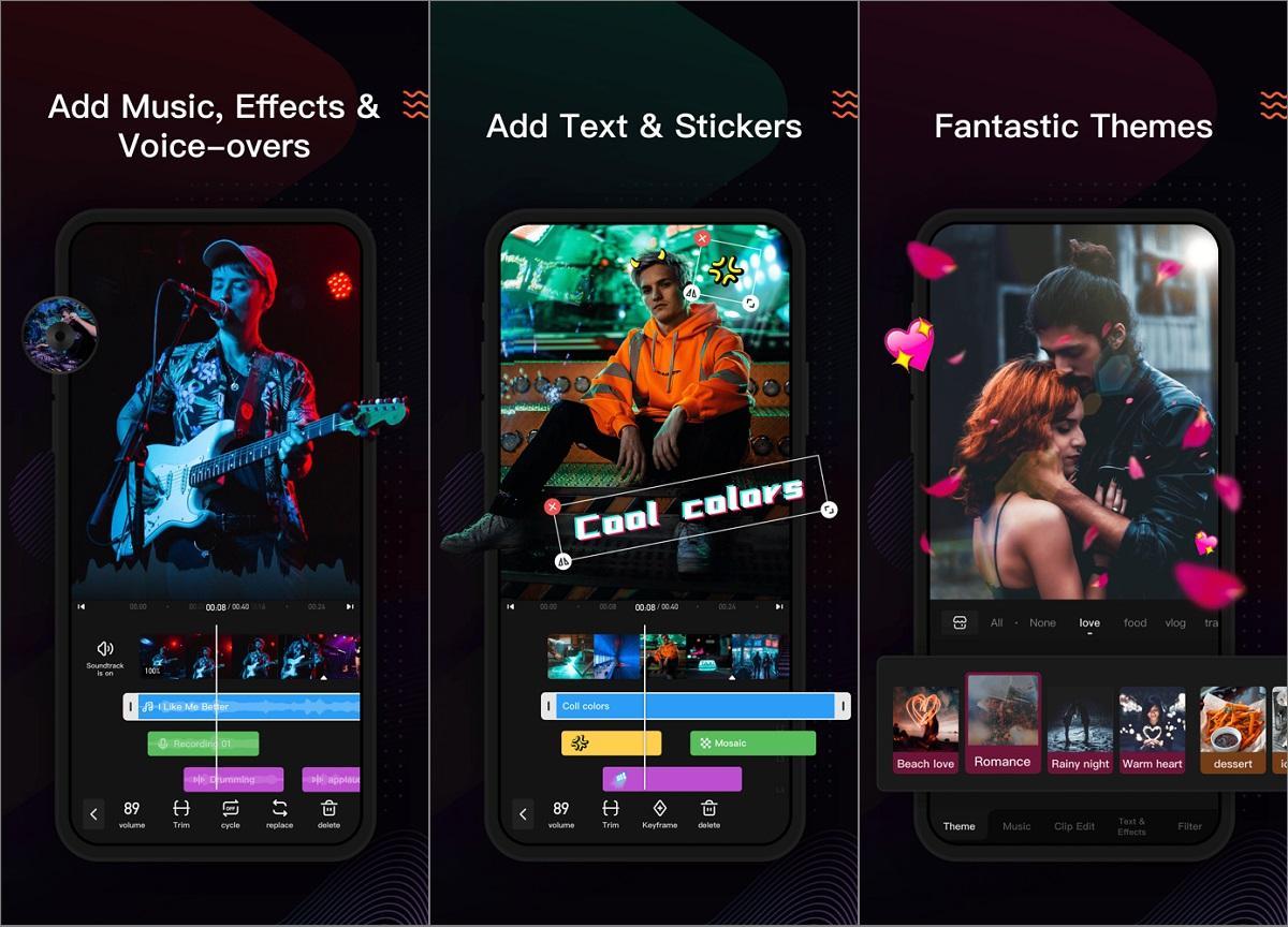 App chèn nhạc vào video trên iPhone VivaVideo
