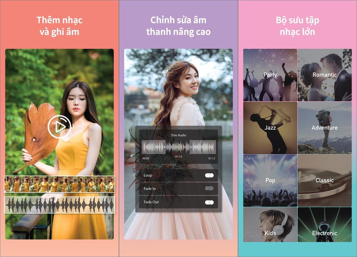 App Thêm Nhạc Vào Video! trên iPhone