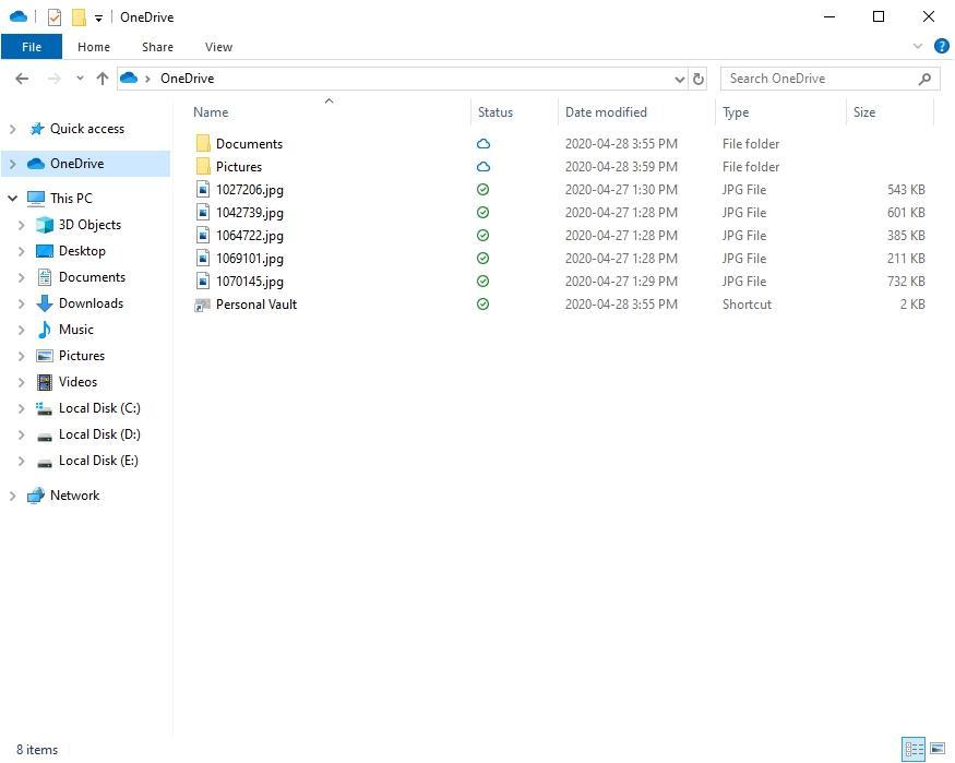 Cách cài đặt quyền cho các thư mục trên OneDrive