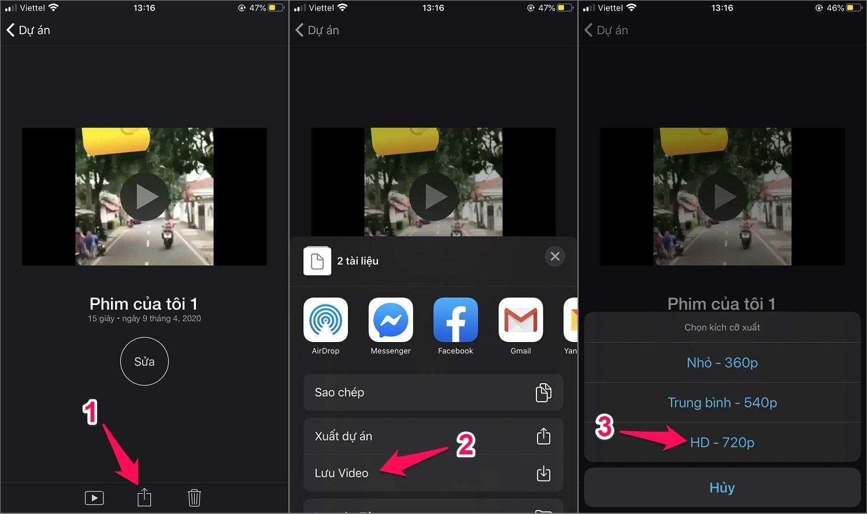 Cách chèn nhạc vào video trên iPhone bằng app iMovie