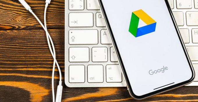 Cách tải file Ảnh và Video từ Google Drive về điện thoại iPhone