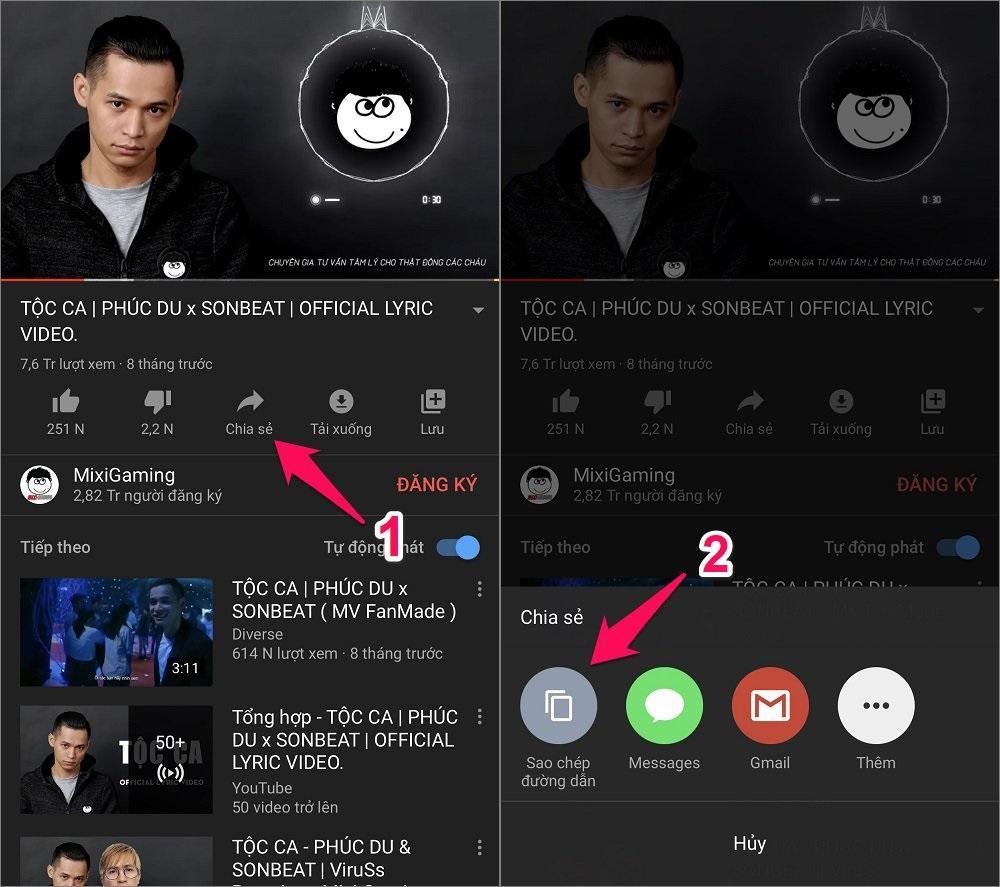 Cách tải nhạc mp3 trên Youtube về điện thoại iPhone trực tiếp