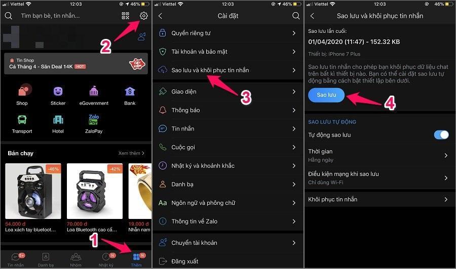 Cách xóa tin nhắn Zalo vĩnh viễn trên iPhone