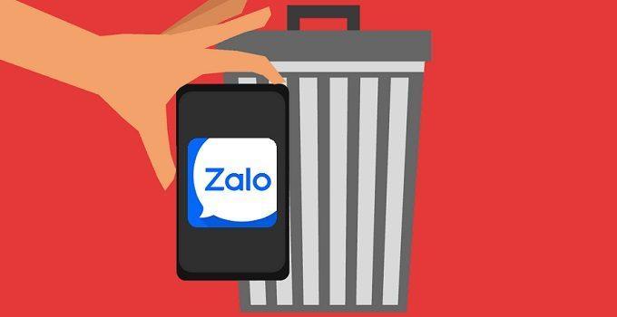 Cách xóa tin nhắn Zalo vĩnh viễn trên iPhone và Android