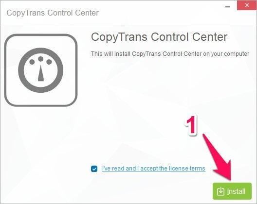 Cách copy nhạc vào iPhone bằng phần mềm CopyTrans Manager
