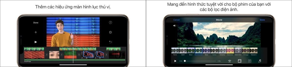 Ứng dụng chèn nhạc vào video trên iPhone VivaVideo