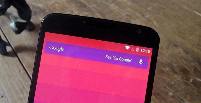Xóa thanh tìm kiếm Google trên Android