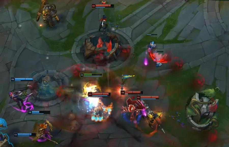 Cách chơi Diana - Giai đoạn cuối game