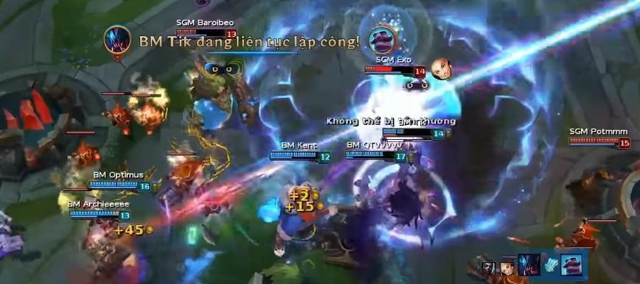 Cách chơi Lux - Giai đoạn cuối game