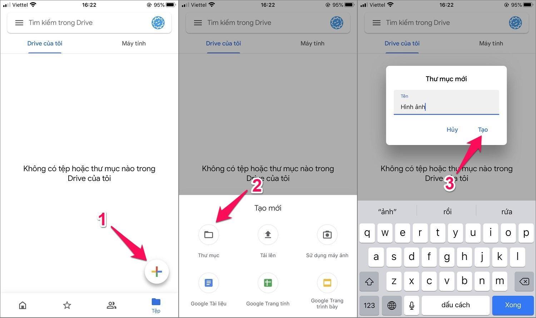 Hướng dẫn cách copy ảnh từ iPhone vào máy tính bằng Google Drive