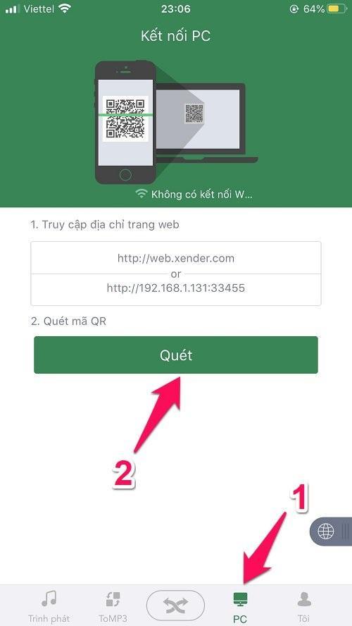 Cách copy ảnh từ iPhone vào máy tính bằng mạng WiFi