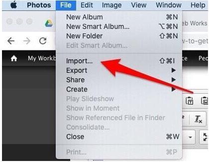 Hướng dẫn cách copy ảnh từ iPhone vào máy tính macOS
