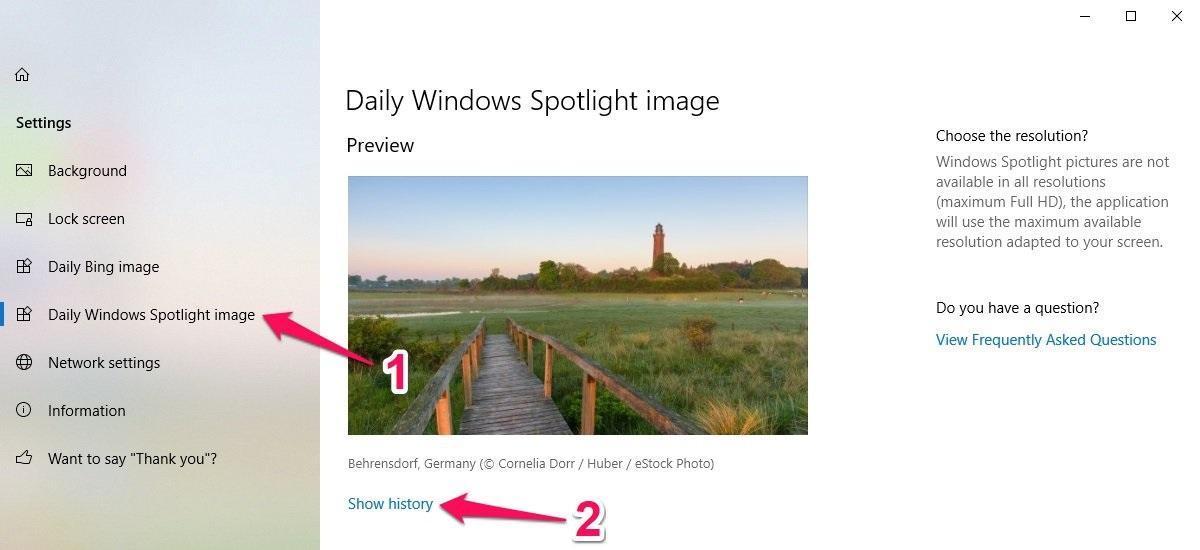 Cách làm hình nền thay đổi liên tục trên Windows 10
