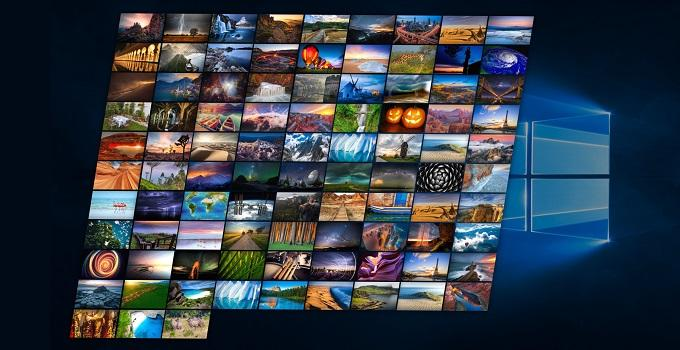 Cách làm hình nền thay đổi liên tục trên máy tính Windows 10