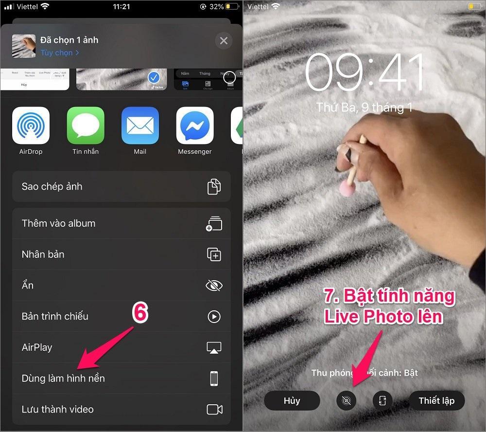 Cách lấy video Tik Tok làm hình nền cho iPhone