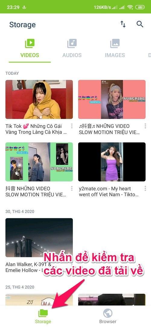 Cách tải video trên Youtube về điện thoại Android bằng ứng dụng SaveFrom