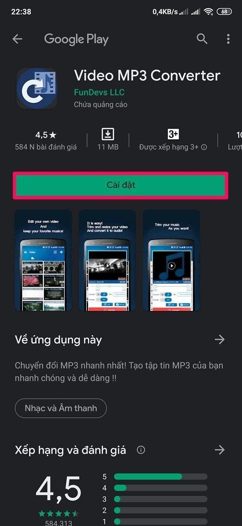 Cách tải video trên Youtube về điện thoại Android bằng ứng dụng TubeMate