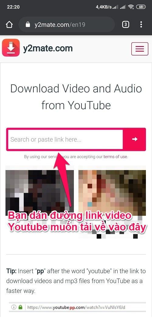 Cách tải video trên Youtube về điện thoại Android trực tiếp