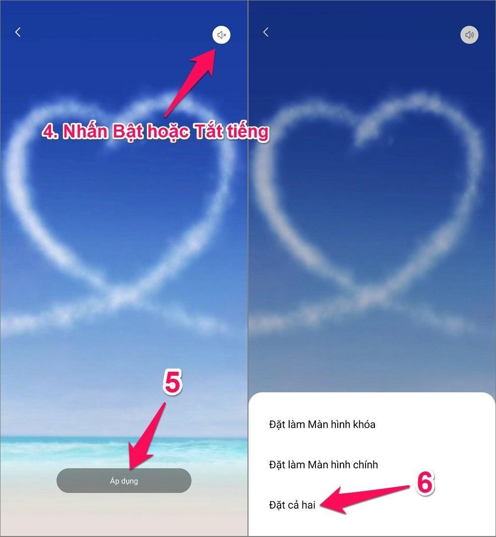 Cách tạo hình nền động cho điện thoại Android từ video