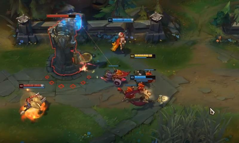 Cách chơi Sivir - Giai đoạn giữa game
