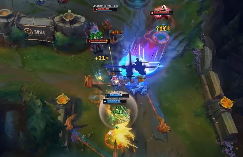 Cách chơi Ezreal - Giai đoạn cuối game