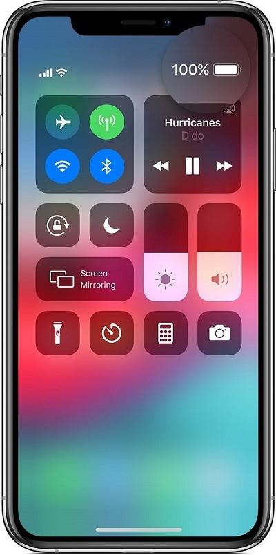 Cách hiện phần trăm Pin trên các đời iPhone X, 11, 12