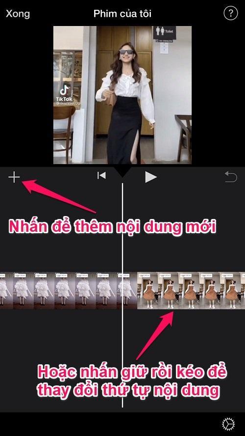 Hướng dẫn sử dụng app iMovie