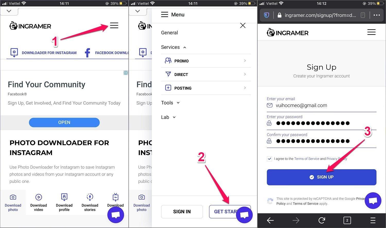 Hướng dẫn cách tải Ảnh từ Instagram về điện thoại iPhone
