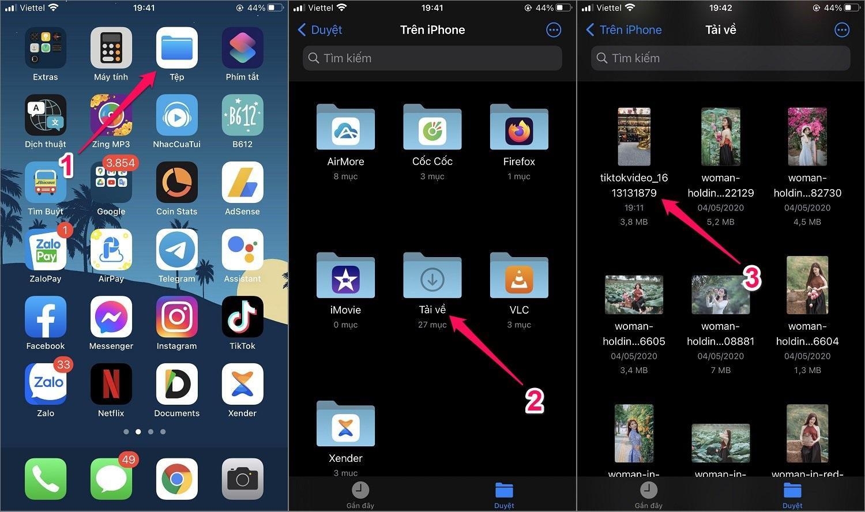 Hướng dẫn cách tải video TikTok bằng Website (Không bị gắn Logo) trên iPhone/Android