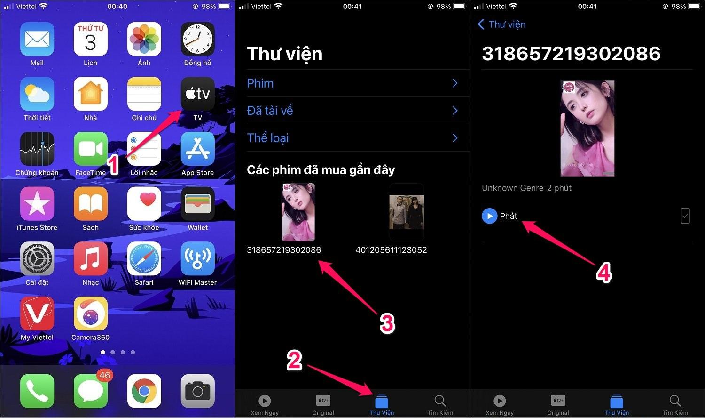 Cách tải video trên Facebook về iPhone