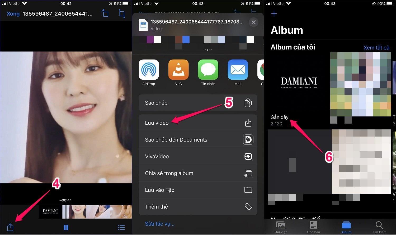 Hướng dẫn cách tải Video từ Instagram về điện thoại iPhone