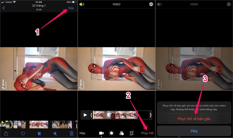 Hướng dẫn cách xoay video trên iPhone/iPad