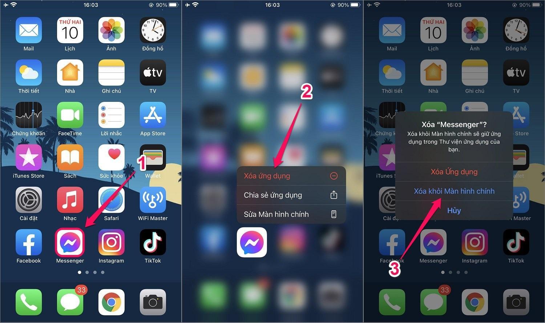 Cách ẩn ứng dụng trên iPhone/iPad bằng Thư viện ứng dụng