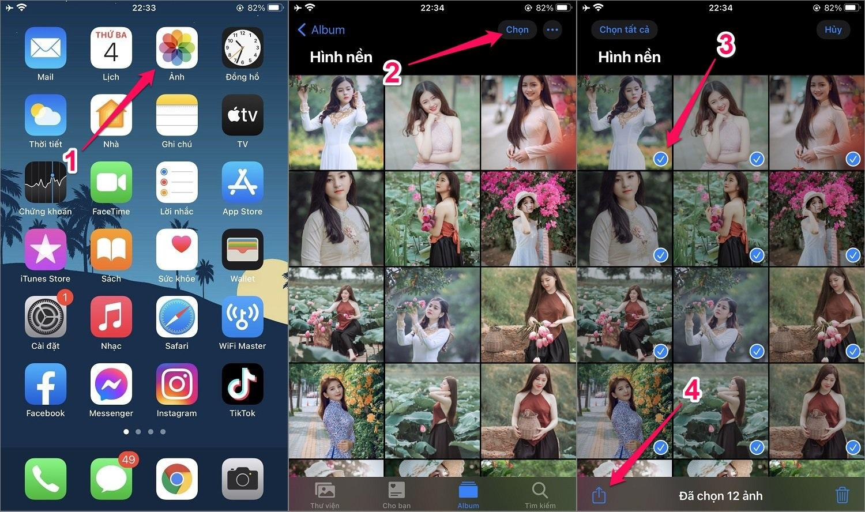 Hướng dẫn cách ẩn Album ảnh trên iPhone