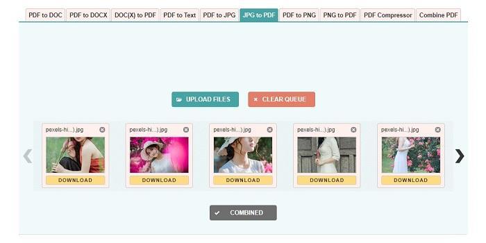 Hướng dẫn cách chuyển file ảnh JPG, PNG thành PDF Online
