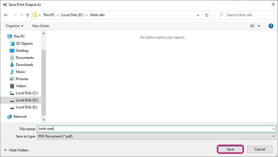 Hướng dẫn cách chuyển file ảnh JPG, PNG thành PDF trên Windows 10