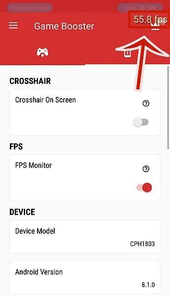 Hướng dẫn cách đo FPS khi chơi game trên Android bằng Game Booster