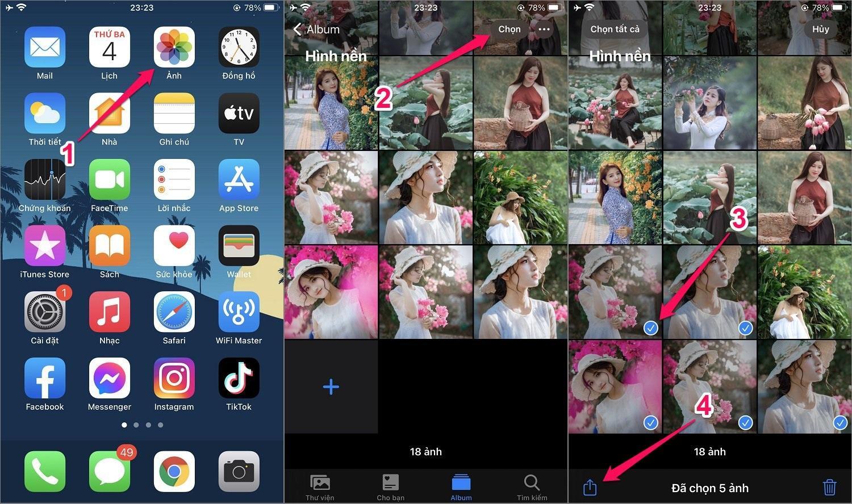 Hướng dẫn cách khóa Album ảnh trên iPhone bằng Ghi chú