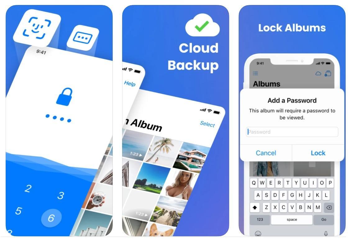 Hướng dẫn cách khóa Album ảnh trên iPhone bằng Ứng dụng bên thứ ba
