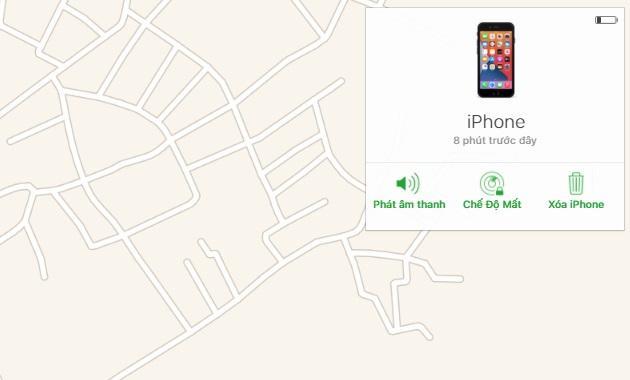 Hướng dẫn cách làm Vô hiệu hoá iPhone khi bị mất